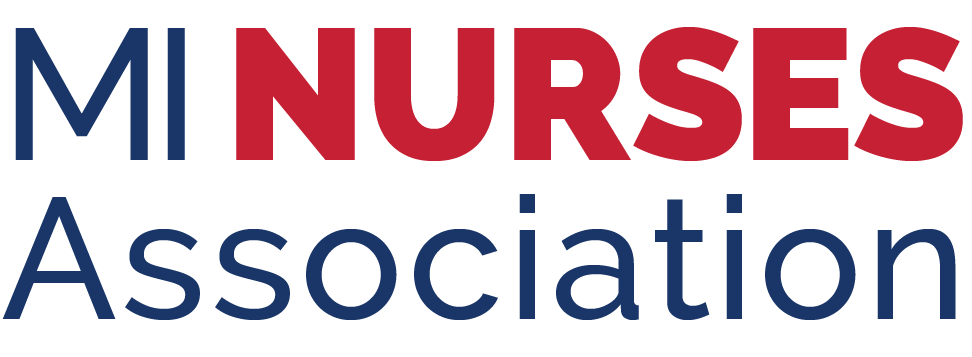 MI Nurses Association Logo