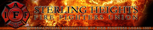 Sterling Heights Fire Fighters Local 1557 Logo
