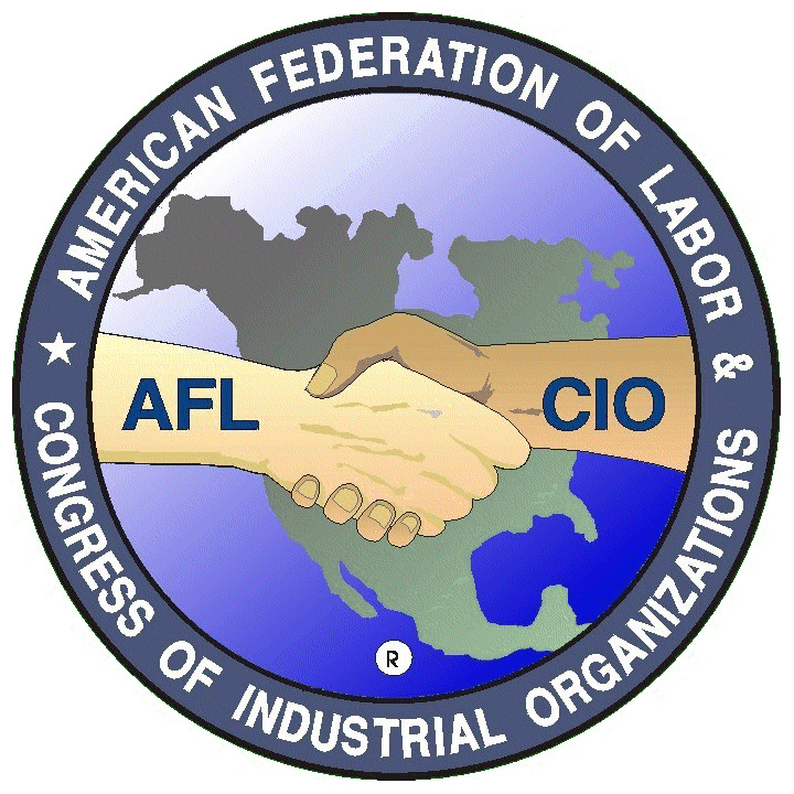 American Federation of Labor and Congress of Industrial Organizations (AFL-CIO) Logo